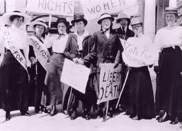 womens suffrage