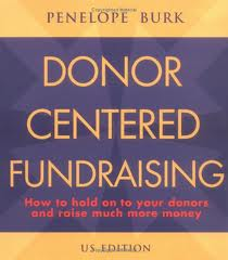 donor centered fundraising book cover
